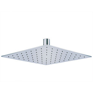 KOHLER RAIN SHOWERHEAD SERIES - K-73040T-CL-CP SQUARE ULTRATHIN KATALYST SHOWERHEAD, 254MM