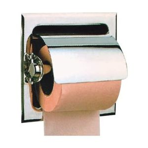 JAQUAR BATH ACCESSORIES HOTELIER SERIES - AHS-1553 PAPER HOLDER WITH FLAP RECESSED TYPE