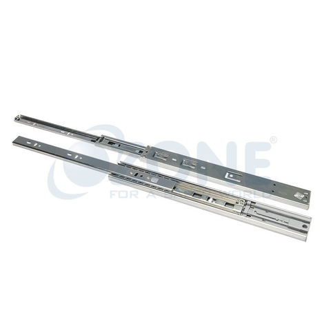 OZONE ERGOTEC DRAWER SLIDES - PUSH OPEN BALL BEARING (TELESCOPIC), 550mm