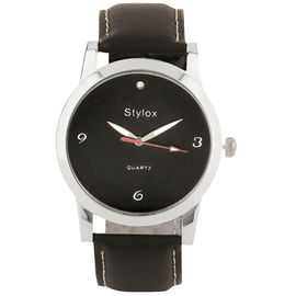 Stylox Black Dial Stylish Watch(STX112)