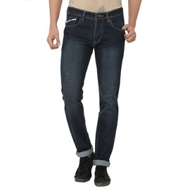 Stylox Stylish Green Shaded Jeans For Men, 28