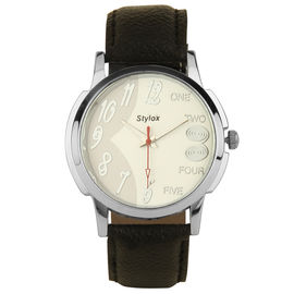Stylox White Dial Stylish Watch(STX108)