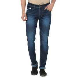 Stylox Stylish Blue Tint Jeans For Men, 34