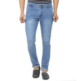 Stylox Light Blue Jeans For Men, 34