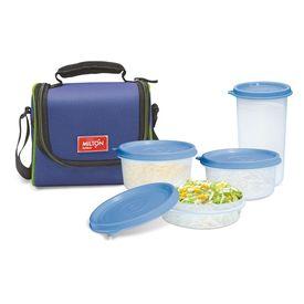 Full Meal 3 Combo - Milton - Plastic - Lunch Box