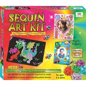 Art & Craft Toys Sequin Art Craft Kits for Kids