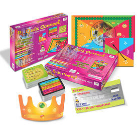 Brainy Quiz Contest Educational Board Game