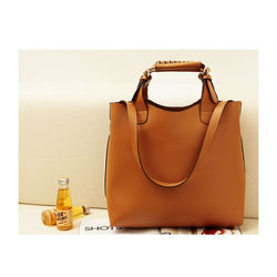 Fashion handbag, Brown