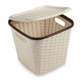 CRESTA BASKET 15 LTR, cream