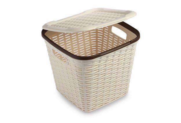 Cresta Basket 15 Ltr, cream