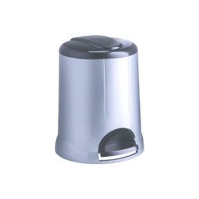 Pedal Bin, 5000 ml,  silver