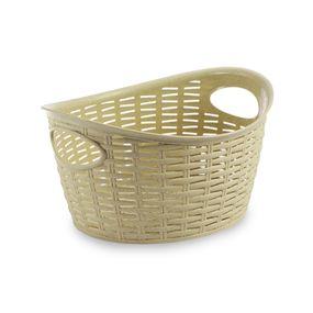 Cresta Oval Basket (9 Ltr), beige