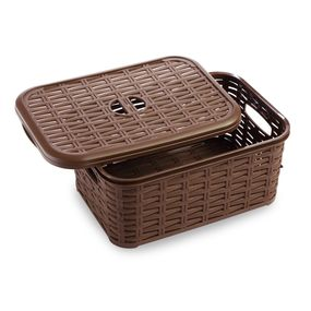 Cresta Box 6 Ltr, brown