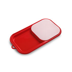 Easy Chop Chopping Board,  red