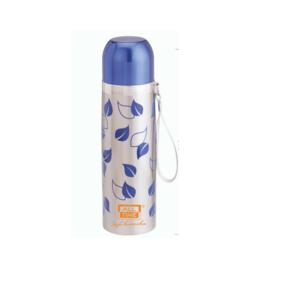 Cresta SS Bullet Flask Petals, 500 ml,  blue