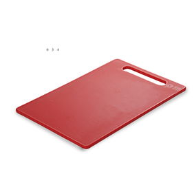 Chopping Board 30.6x20.6x0.75 cm,  red
