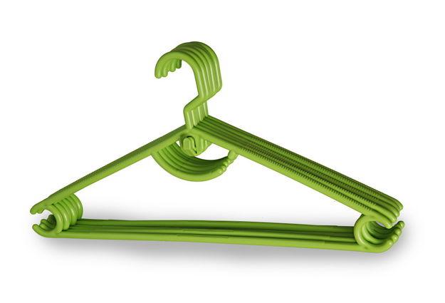 Rotating Hook Hanger 12Pc Set,  green