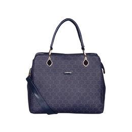 ESBEDA Printed Pattern Signature Logo handbag For Women,  blue