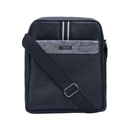 ESBEDA Solid Pattern Drymilk Stripe Slingbag 001005027,  black