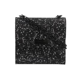 ESBEDA LADIES SLING BAG EB-002,  black-white