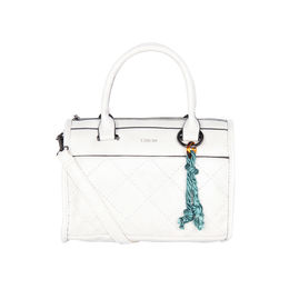 ESBEDA Solid Pattern Dolce Designer Handbag For Women,  white