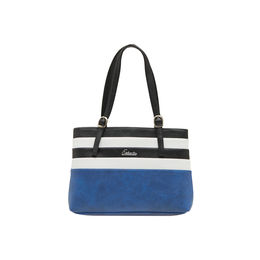 ESBEDA LADIES HANDBAG SH060417-1,  d-blue-white-black