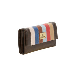 ESBEDA LADIES WALLET UM280717,  d brown-multi