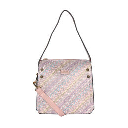 ESBEDA Printed Logo font handbag For Women,  pink