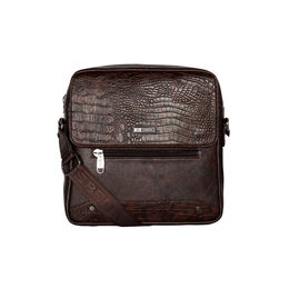 ESBEDA Pearlized Rodeo Crossbody Sling bag For Mens,  brown