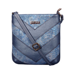 ESBEDA Medium Size Chunky Glitter Slingbag For Womens-A00100042-41,  blue