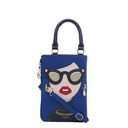 ESBEDA LADIES SLING BAG 1008,  d-blue