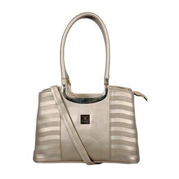 ESBEDA Emboss Glossy handbag-A00100028-14/5869,  cream