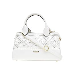ESBEDA LADIES HANDBAG 19577,  white