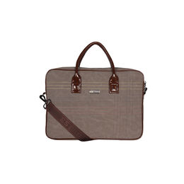 ESBEDA Stitch Line Laptop bag For mens & women,  grey