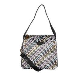 ESBEDA Printed Logo font handbag For Women,  black