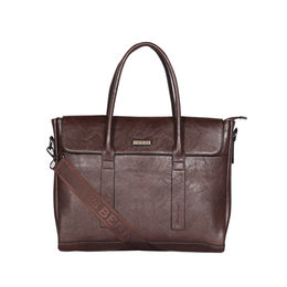 ESBEDA Regular Size Metropolitan Laptop bag For Men,  coffee