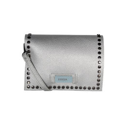 ESBEDA Solid Pattern Outfitter Slingbag For Women,  silver