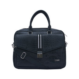 ESBEDA Animal texture Pattern Croco Laptop Bag 001005293,  black