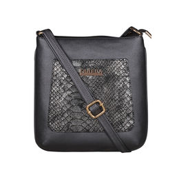 ESBEDA Medium Size Shiny Glitter Slingbag For Womens-A00100042-44,  grey