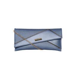 ESBEDA Emboss Pattern Clutch For Women,  blue