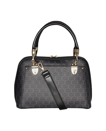 ESBEDA Printed Pattern Signature Logo handbag For Women,  dark blue