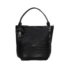 ESBEDA Solid Pattern Birkin Solid Hobobag For Women,  black