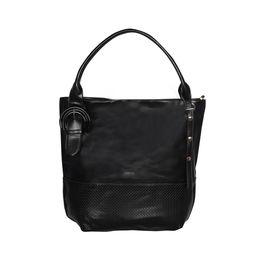 ESBEDA Solid Pattern Birkin Solid Hobobag For Women,  black