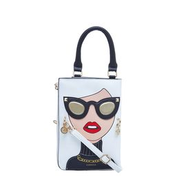 ESBEDA LADIES SLING BAG 1008,  white