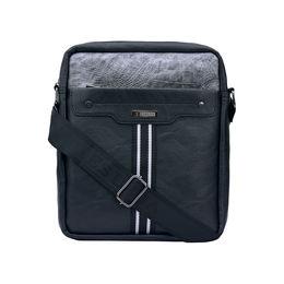 ESBEDA Solid Pattern Croco Stripe Slingbag 001005032,  black