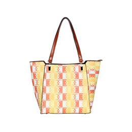 ESBEDA Logo Print pattern Handbag For Women,   orange
