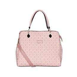 ESBEDA Printed Pattern Signature Logo handbag For Women,  pink