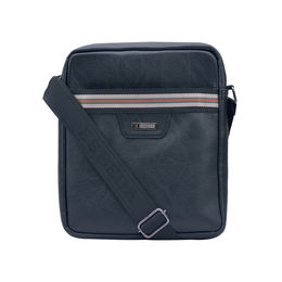ESBEDA Solid Pattern Drymilk Stripe Slingbag 001005035,  black