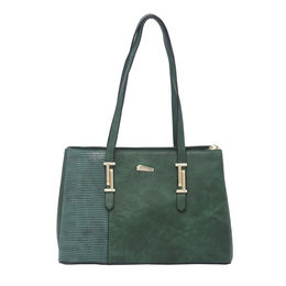 ESBEDA LADIES HANDBAG 18646,  green