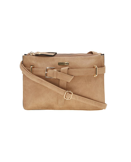 ESBEDA LADIES SLING BAG AS280717,  tan-black